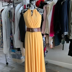 Yellow Maxi dress